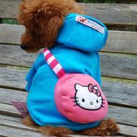 Hot Sale High Fashion Hello kitty pet coat winter dog coat Christmas coat LPC112201