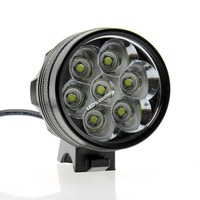 BIke Light 7T6 3 Modes 9000 Lumen Front Bicycle Light With 6*18650 Battery Set