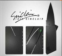 Hot Selling Sinclair Cardsharp 2 Credit Card Knife Wallet Folding Safety Knife Pocket Camping Hunting Knife