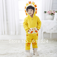 Hot Sale Discount Unisex baby Lion Clothes 3 pcs/set vest trousers jacket Warm and fashion boys&girls new year Christmas gifts