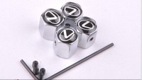 Free Shipping :Lexus   GTI logo Anti-theft tire  valve