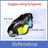 HD 720p Ski Sport glasses video sports/action camera Goggles skiing Sunglasses Free Shipping 10pcs/lot