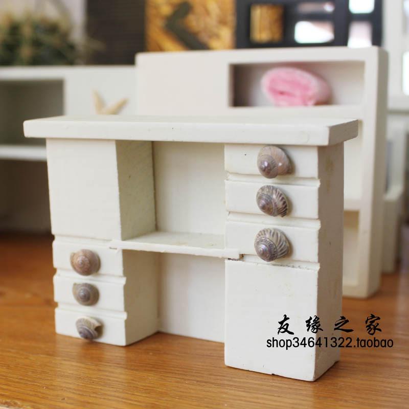 Small furniture zakka bookcase cabinet toy free shipping(China (Mainland))