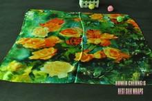 wholesale paint silk scarf