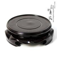 Longquan celadon incense burner vase tea set base three-legged the base tea accessories