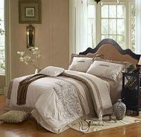New arrival,100% cotton 4pcs embroidered bed sheet set,bedding set,duvet cover set,doona duvet covers,bed set and bedspread