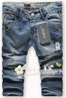free  shipping  1pc/1lot baby   jeans cotton Denim kids jeans girls pants baby trousers