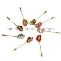 (600pcs/lot)muslim Headwrap pin brooches Hijab chain pins crystal scarf pin fixed safety pin