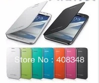 100pcs/lot Back Cover Flip Leather Case Battery Housing Case For Samsung Galaxy Note 3 Note3 Note III N9000 N9005 N9006