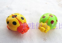 Plastic WARRIOR coccinella WARRIOR beetle toy baby small toys  FREE SHIPPING