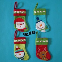 Christmas socks christmas tree hangings Christmas decoration storage bag christmas gift accessories