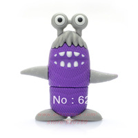 Free shipping Littlee Monster USB Flash Drive 2GB 4GB 8GB 16GB 32GB Real Capacity  PVC USB Memory Stick