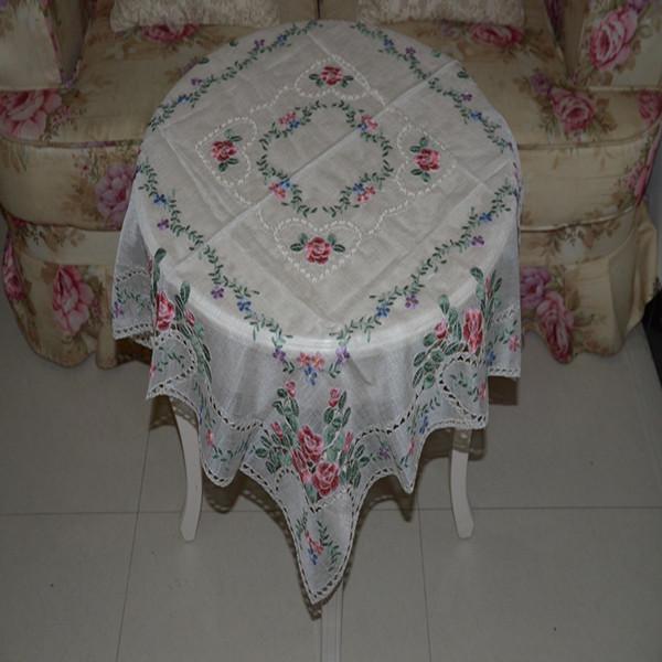 Столовые салфетки из ткани