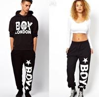 WOMEN MEN HIP HOP STYLE SPORTS PANTS BOY LONDON PRINT Free shipping