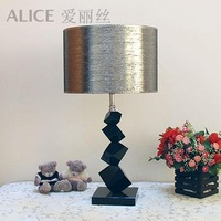 Modern Table Light fashion brief crystal Large lamp  ofhead Bed lights