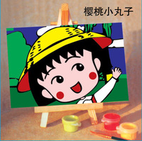 DIY Digital oil painting decorative painting 10* 15CM