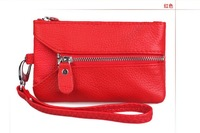South Korea's new women's versatility genuine leather wallet women,Convenient to carry key case brand wallet women