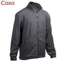 Caxa polar fleece fabric Men male cardigan outdoor clothing thickening thermal fleece outerwear 1195
