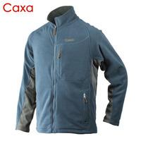 Caxa thickening Men thermal outdoor clothing fleece fabric polar fleece sweatshirt outerwear j1180