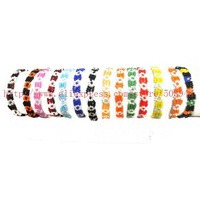Free shipping 12pcs mixed /lot stretch Glass Seedbead Friendship bracelet