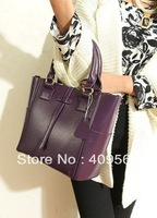 2013 women's fashion handbag one shoulder cross-body portable real leather bag genuine leather tote designer messenger bags