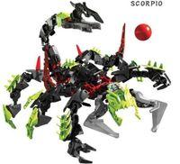 Decool Toy Robot 3 0 Hero Factory Children's Educational Toys Scorpion King model building blocks