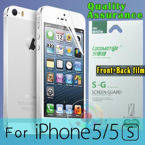 Защитная пленка для мобильных телефонов + iphone 5S/5 защитная пленка для мобильных телефонов motorola x 2 2 x 1 xt1097 0 3 2 5 d