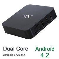 Mx Android OS 4.2 intelligent Dual-core A9  hd set-top box smart tv   wifi xbmc Free HDMI