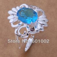 GY-AR032 SIZE 8 # BIG sale ! Free Shipping Wholesale 925 silver fashion RING AYRYHFDH