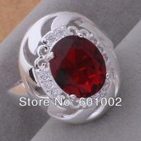 GY-AR043 SIZE 7 # BIG sale ! Free Shipping Wholesale 925 silver fashion RING FDHFHHJ