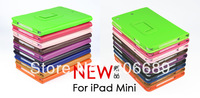 Flip PU Leather Case 7.9 inch / Lichi Pattern Stand Case Cover for Apple iPad Mini 2,300pcs\lot Free Shipping