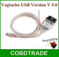 Big promotion!! Vagtacho USB Vag tacho USB Version V 5.0 For NEC MCU 24C32 or 24C64 Professioanl Mileage KM Tool high quality