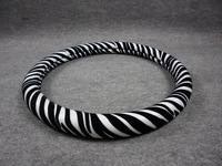 Dad steering wheel cover zebra print steering wheel cover dad zebra print cover car exhaust pipe