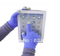 Touch screen capacitive touch gloves iphone ipod touch gloves autumn and winter to keep warm