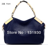 Free shipping brief noble handbag unique PU shoulder bag&messenger bag 6 colors for optional afs88898-042103