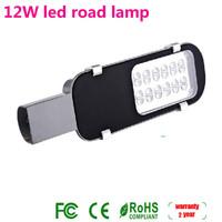 High Quality 12w LED Street Light Waterproof IP65 Road Lamps AC85V-265V 350mm*95mm *60mm 2 years Warrenty Free Shipping