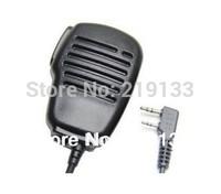 ham radio transceiver Rainproof  2 pin Speaker Mic Microphone for portable radio Wouxun kg-uvd1p Baofeng UV-5R Two Way Radio