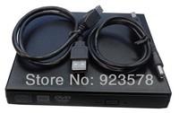 WHOLESALE 10pcs/lot High Quality External Slim USB Slim 8x DVD-RW Rewritable Burner CD Writer