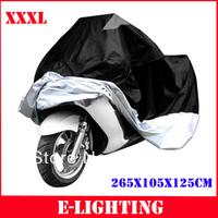 XXXL 265*105*125CM for honda Shadow Spirit 750 Shadow Aero RS Phantom Sabre Motorcycle Bike Cover