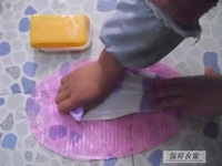 New arrival candy color oval type sudsy cupsful wall suction pad slip-resistant pad portable washing board