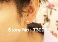 pure 14k  glod  women  small Earrings small  mini bike bicycle  earrings  jewelry gifts birthday and wedding  free shipping