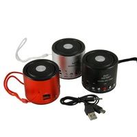 Portable WS-138RC FM radio support TF card /USB flash disk/ recording mini speaker