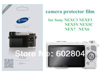 Wholesale! camera LCD protective film screen protector for sony NEXC3 NEX5C NEXF3 NEX5N NEX6 NEX7 scratch-resistant protector