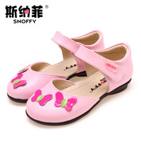 Snoffy children shoes female child cowhide leather 2013 136j09 child princess single shoes 15-20cm