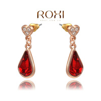 Christmas Delicate Large zircon Earrings,Gift to girlfriend is beautiful,Pure handmade fashionable elegance,2020259390