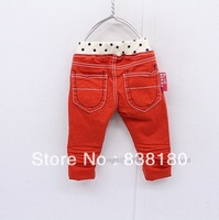 autumn summer children fashion pants girls candy color trousers wild base pants child clothes slim Pants for kids