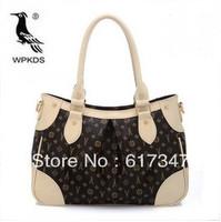 2013 letter women's handbag woodpecker genuine leather bag summer cross-body handbag