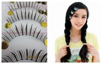 Pure manual transparent on the false eyelash eyelash natural long 10 for a box of false eyelash free shipping