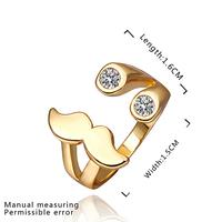 New Arrival 18K Gold Plated Ring,Fashion Jewelry Ring,18K Rhinestone Austrian Crystal Ring Men Women Wedding Rings SMTPR363