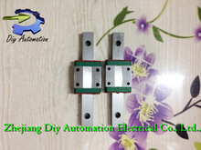 Free Shipping Kossel Mini MGN12 12mm miniature linear rail slide =2pcs 12mm L300mm rail+2pcs MGN12C carriage for X Y Z Axies